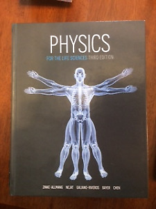 Physics for the Life Sciences Third Edition - Great condition