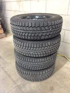 Winter Tires and Steel Rims (Virtually New!!!)