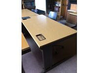 heavy duty office desk x 4