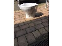Brand New White WC Pan