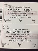 Mariana's Trench and Walk Off The Earth