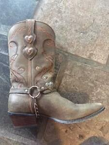 Durango Ladies Western Soft Leather Boots Merrimac Gold Coast City Preview