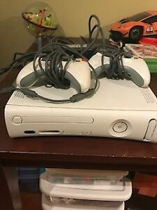 XBOX 360 20GB WITH WIRELESS ADAPTER $80.00 OBO