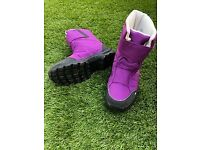 Snow boots purple (UK size 37)