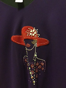 Red Hat Lady Outfits size large