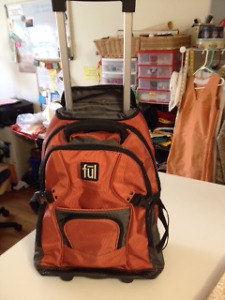 Ful Rolling Backpack