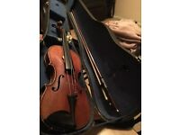 Stradivarius German copy violin 3/4 size