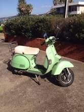 Green Scooter Freshwater Manly Area Preview
