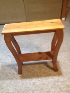 Accent table - hand made