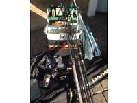 Fishing set up for sale.