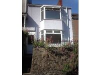 Lovely 2 bedroom house to rent in quiet street in central Swansea