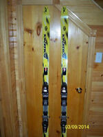 Rossignol Ski's, poles and bag