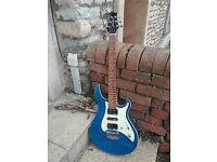 Guvnor 6 string Blue electric Guitar