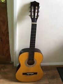 Acoustic full size guitar