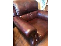 Excellent condition beautiful leather armchair