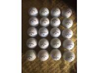 20 Callaway Golf Balls Pearl/Grade A