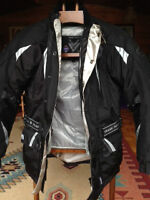Motorcycle Jacket Frank Thomas Aqua Pore