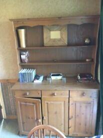 Pine Welsher dresser