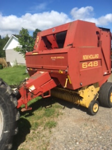 For Sale: 648 New Holland Silage Special Baler