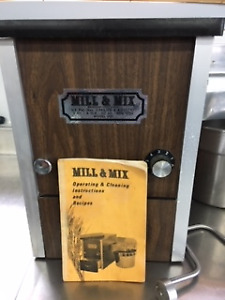 """Flour grinder and bread maker-""""Mill and Mix"""""""
