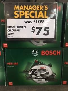 BOSCH GREEN 184MM CIRCULAR SAW