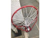 As new - never used basket ball hoop and bracket