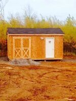 Offer quality built sheds and bbay barns at competative pricing