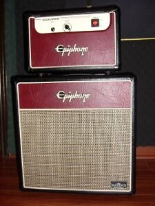 5 W ALL TUBE HEAD / MATCHING 1X12 CAB - BY EPIPHONE