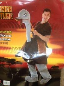 Adult ostrich / emu fancy dress costume