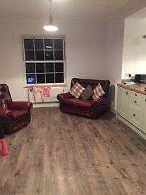 Small Chesterfield Sofa.