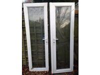 Double glazed conservatory doors