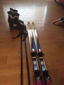 Skiis/Boots/Poles