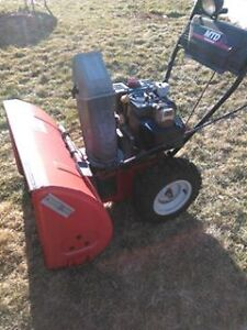 snow blower 400.00 or make offer need cash asap