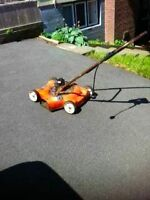 Free electric lawnmower