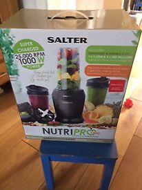 Salter nutri-pro blender25,000 rpm 1000w
