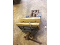 Record 52E wood working vice