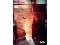 Beautiful Victorian Chest of Drawers