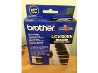 Brother Black Ink Cartridge LC1000BK - Unopened, Unused and Boxed
