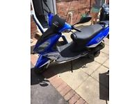 nipponia dion 125cc only 1000 miles!!!