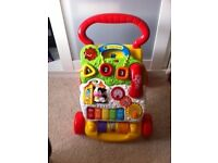 Vtech first steps baby walker. Immaculate condition from a smoke free,pet free home.