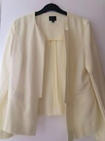 Yellow Marks and Spencers Jacket Size 12 petite