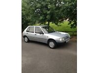 Peugeot 205gr 1.4petrol Dec1990 Mot until mid Jan2017 Same family owned since new. Offers around£900