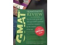 The official 13th edition of GMAT Review (quantitative and verbal included) books