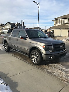 2014 Ford F-150 SuperCrew FX4 Luxury Package Pickup Truck