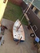 11ft fibreglass sailing dinghy Hollywell Gold Coast North Preview