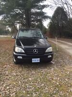 Selling two Mercedes ML for 3500.00 Please read the ad.