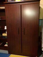 ensemble bureau chaise armoire et bibliothèques