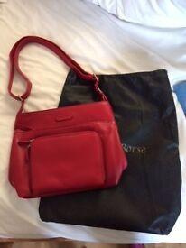 Red Casa di Borse handbag NEW!