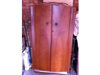 Wardrobe for sale - good condition - £10 - collection only.