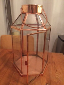 Beautiful Copper Lantern £15 each (ono) - Eight Available